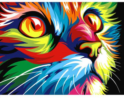 Diamond Painting Katze