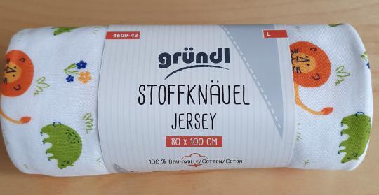 Stoffknäuel Jersey print
