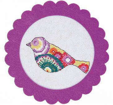 Rico Design Stickpackung Vogel