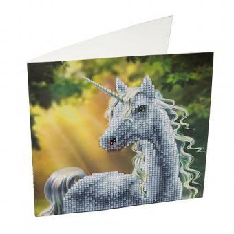 Crystal Card Kit EINHORN IN DER SONNE