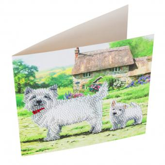 Crystal Card Kit YORKSHIRE TERRIER