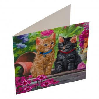 Crystal Card Kit KATZEN FREUNDE