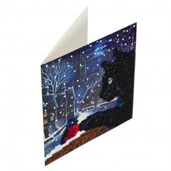Crystal Card Kit  SCHWARZE KATZE