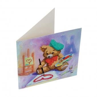 Crystal Card Kit TEDDY