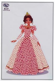 Crystal Art Sticker Kit Prinzessin
