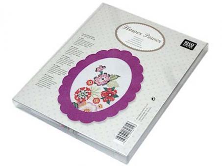 Rico Design Stickpackung Blumen