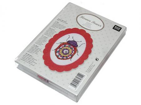 Rico Design Stickpackung Marienkäfer
