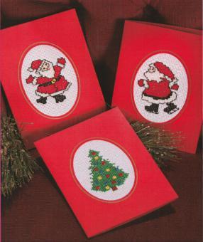 Stickpackung Grußkarten Weihnachten