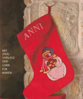 """Stickpackung Weihnachten Stiefel """"Anni"""""""