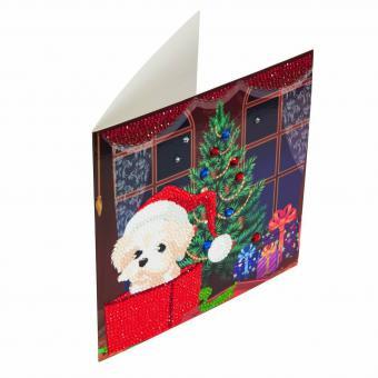 Crystal Card Kit WEIHNACHTSHUND