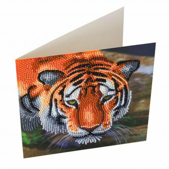Crystal Card Kit TIGER